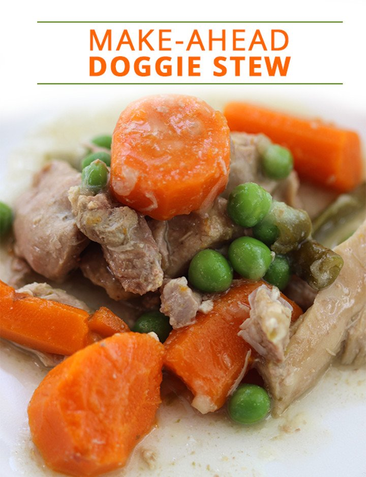 Make-Ahead Doggie Stew Recipe