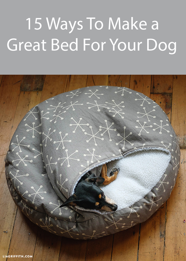 15 Designs For Diy Dog Beds Follow Step By Step Instructions