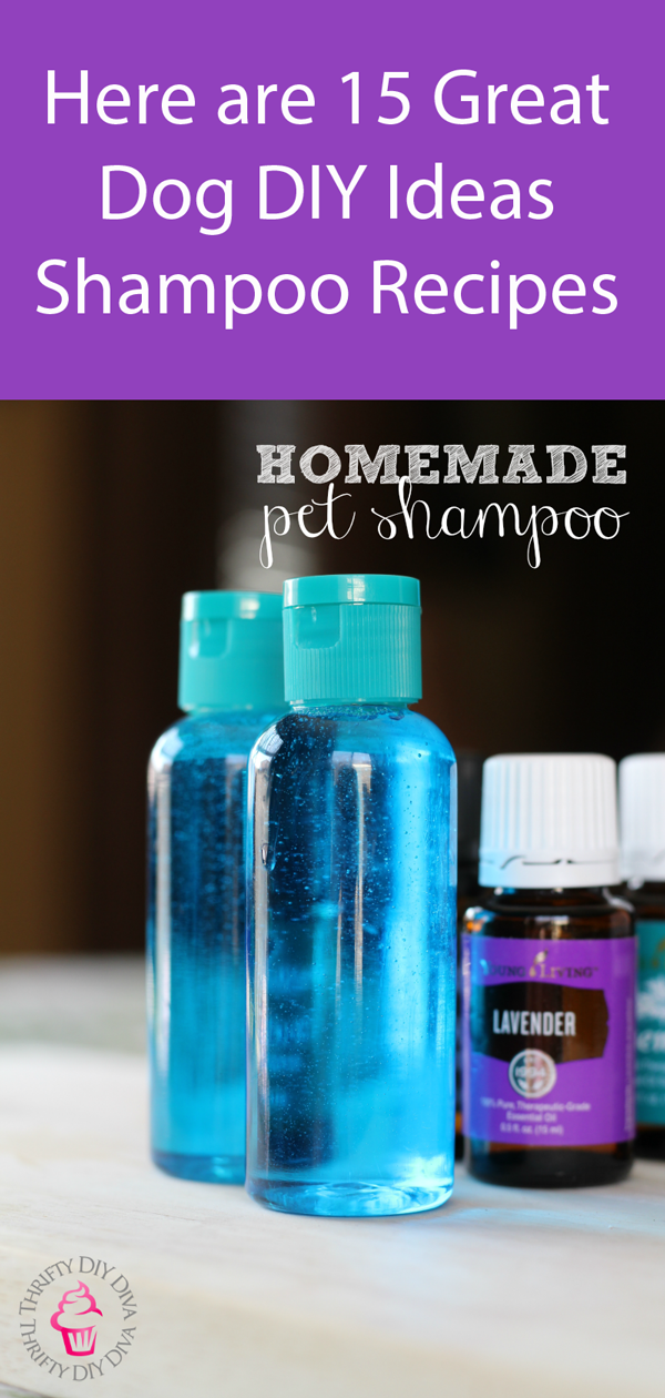 Homemade Pet Shampoo With Essential Oils