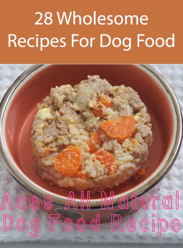 Brown Rice And Chicken Dog Food