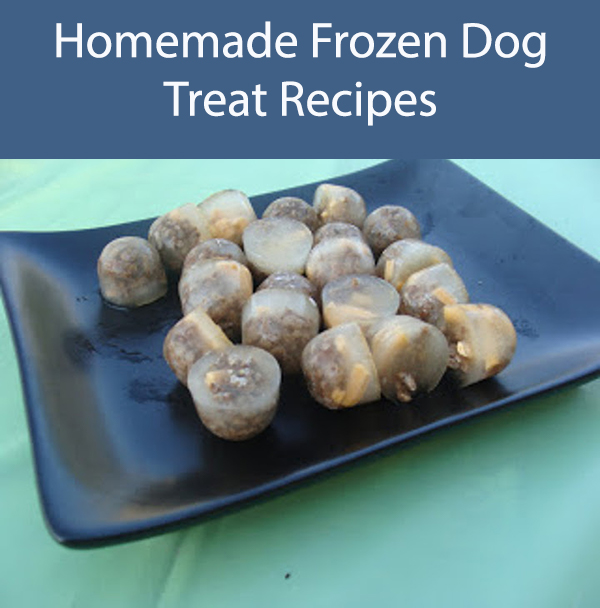 Frozen Cheeseburger Dog Treats